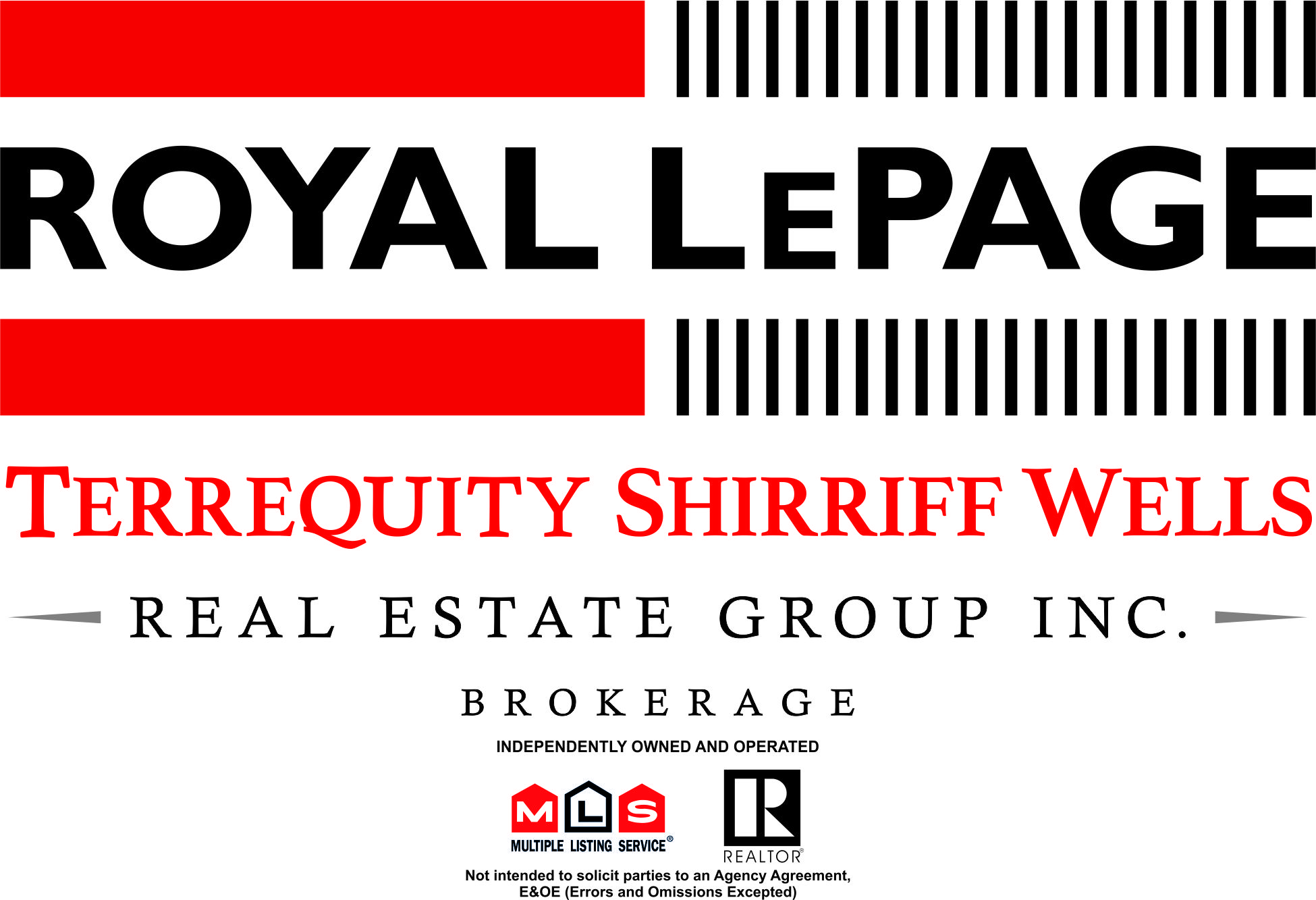 Royal LePage Terrequity Shirriff Wells Logo